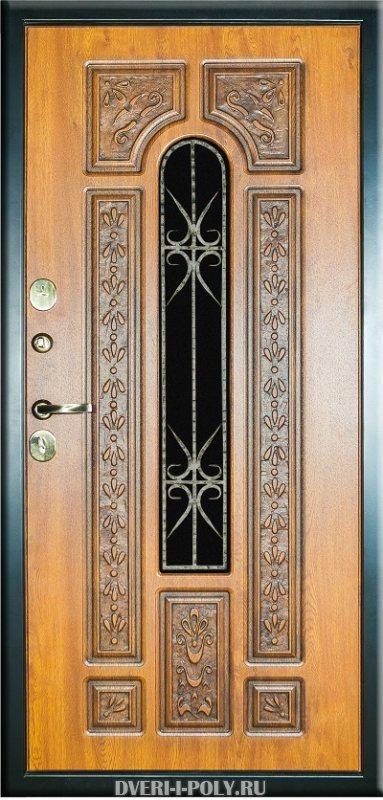 установить металлическую дверь недорого с ковкой