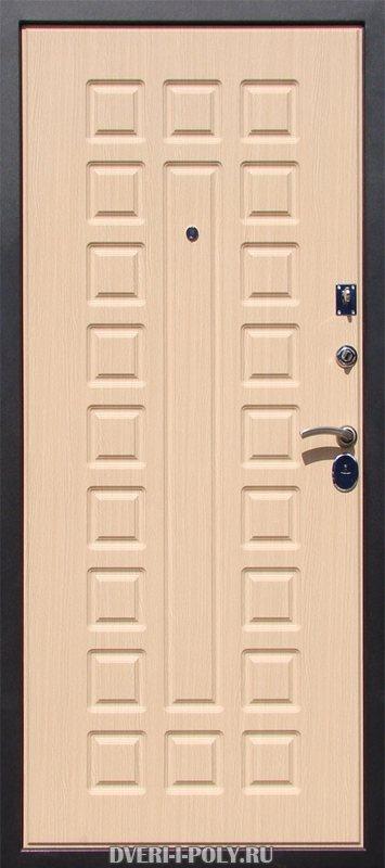 двери входные светлые с внутренним покрытием из мдф