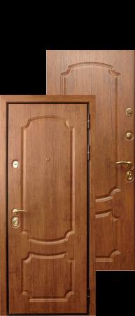 Стальная дверь «Триумф»Дуб антик/Дуб антик