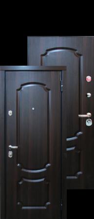 Стальная дверь «Триумф»Темный орех/Темный орех