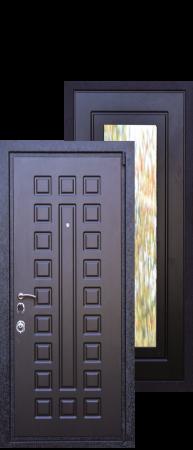 "Стальная дверь ""Зеркаль"""