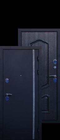 """Стальная дверь """"Часандра 3D"""""""