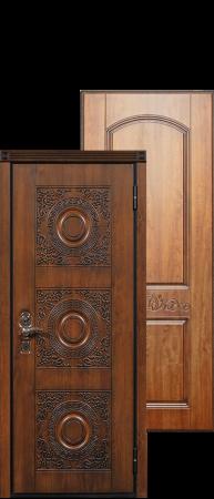 Стальная дверь «Милано» с замковой группой Кале.