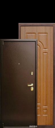 """Дверь 5А медный антик-итальянский орех """"ГлавДвери"""""""