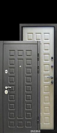 """Дверь Сенатор венге-беленый дуб """"ГлавДвери"""""""