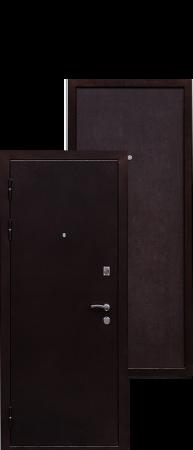 Стальная дверь Практик венге
