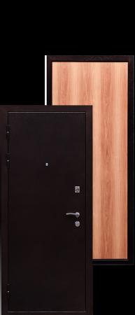 Стальная дверь Практик миланский орех