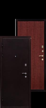 Стальная дверь Практик итальянский орех